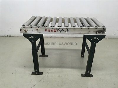 """Roller Conveyor 18"""" x 35.5"""" x 27.25"""" High ( Used and Tested )"""