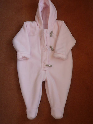 Baby Sleep Suit Marks & Spencer Girls 3-6 Months Pink