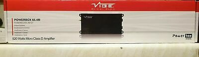 Vibe PowerBox 65.4M Class 4 Channel Micro Amp Amplifier High + FREE WIRE KIT