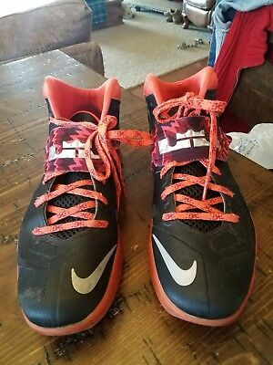 save off 58487 e6695 Nike Men s Lebron Zoom Soldier VII SIZE 12 Basketball Shoes 609679 005