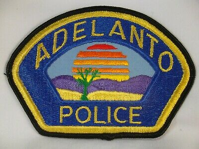 726 California ADELANTO Police Patch - San Bernardino County