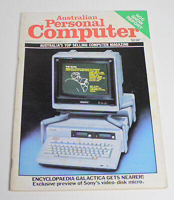 Australian Personal Computer (APC) Magazine (1 Issue from August 1982)