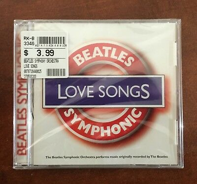 Beatles Symphonic Love Songs Cd...factory Sealed