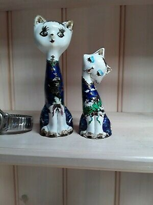 Chinese Cloisonne cats