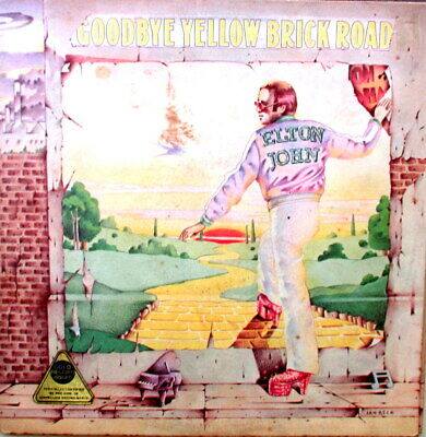 Elton John - Goodbye Yellow Brick Road Double Lp - In Excellent Condition