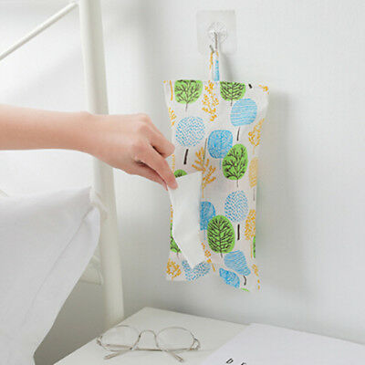 Toilet Paper Baby stroller Hanging Bag Wall Hanging Type Tissue  Hx