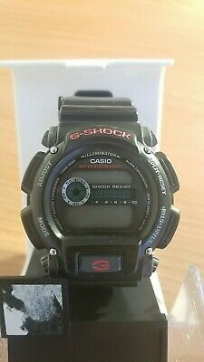 Casio Men's DW9052-1V G-Shock Black Stainless Steel and Resin Digital Watch!