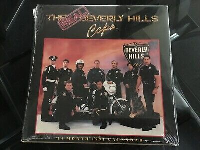 THE BEVERLY HILLS COPS Calendar 1991 Good For 2019 Sealed Gay Interest Beefcake