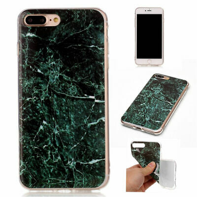 Stylish Cool Granite Marble Stone Effect Soft Case Cover For IPhone 7 7 Plus 6S
