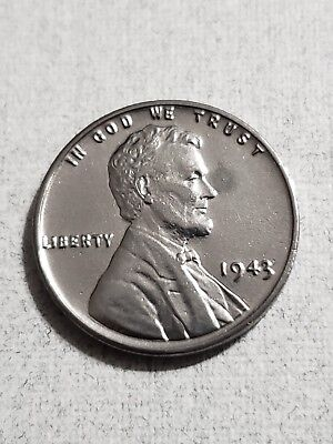 1943 P Lincoln Steel Wheat Cent Penny GEM BU UNCIRCULATED from OBW Roll