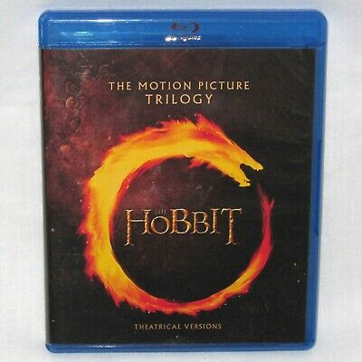 The Hobbit Trilogy Blu-ray Disc - Theatrical Movie Versions - 2018
