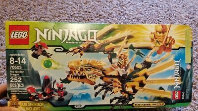 Lego Ninjago Masters of Spinjitzu 70503 The Golden Dragon 252 pcs 100% Complete