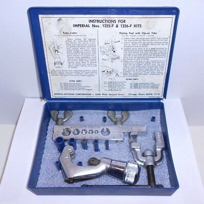 Imperial Tubing Tool Kit 195-FA with Cutter and Slip-on Yoke