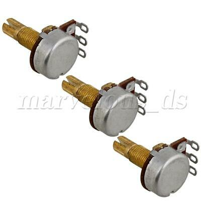 A500K-ohm Push Pull Guitar Control Pot Potentiometer With 18mm Gold Plated Shaft