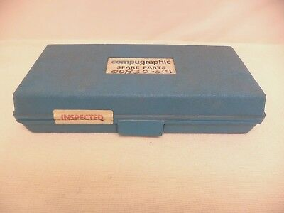 Vintage Compugraphic Phototypesetter Spare Parts Kit, Microchip Spare Parts Kit