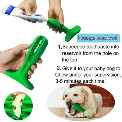Pet Dog Toothbrush Pet Brushing Stick Teeth Cleaning Chew Toy Dogs Pet Oral Care