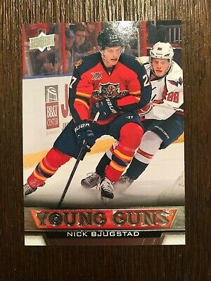 "2013-14 Upper Deck Series Two ""Young Guns"" Rookie RC # 488 Nick Bjugstad"