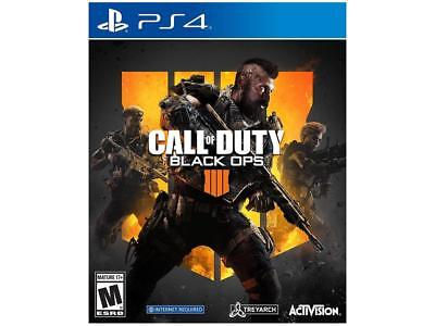 Call of Duty Black Ops 4 Sony PlayStation 4 (PS4)+Brand New+Free Ship!!