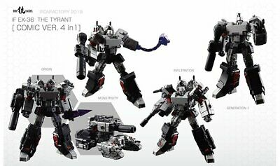 IronFactory IF EX-36 The Tyrant Megatron Comic Ver 4 in 1 Action Figure HP