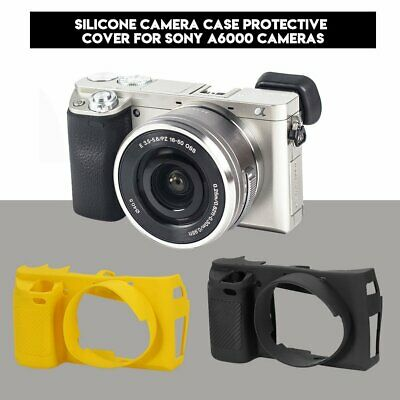 Multicolor Soft Silicone Camera Body Bag Cover Protective Case For Sony A6000
