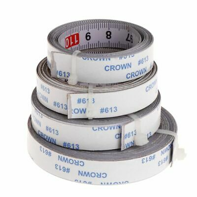 Miter Saw Track Tape Measure Self Adhesive Backing Metric Steel Ruler 1/2/3/5M