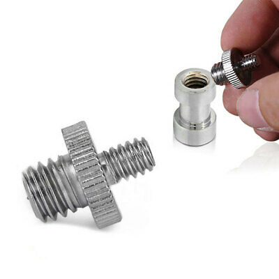 1/4 inch Male To 3/8 inch Male Threaded Screw Adapter For Camera Tripod