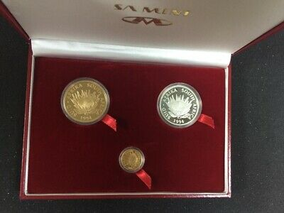 Gold Proof Protea Coin Set - Conservation