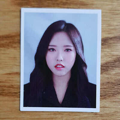 Olivia Hye Loonaverse Concert Official MD Loona ID Photocard Monthly Girl Kpop