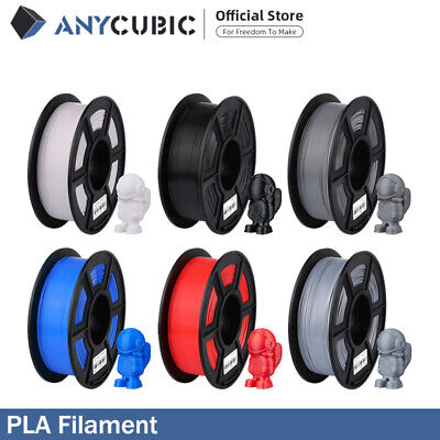 EU Stock ANYCUBIC 1KG 1.75mm PLA Filament Stampante 3D Plastic Material Spool