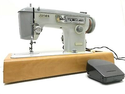 JONES/ Brother 888 vintage sewing machine Heavy Duty Fully Serviced  Refurbished