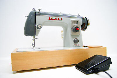 JONES/ Brother vintage sewing machine Heavy Duty Fully Serviced  Refurbished