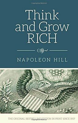 Think and Grow Rich by Napoleon Hill Motivation & Self-Improvement Hardcover NEW