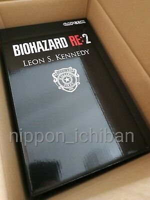 Resident Evil 2 Biohazard RE:2 Leon S. Kennedy Statue Figure Collector's ED NEW