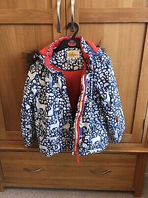 Boden girls' ski jacket age 7 - 8 in excellent condition; RRP £60