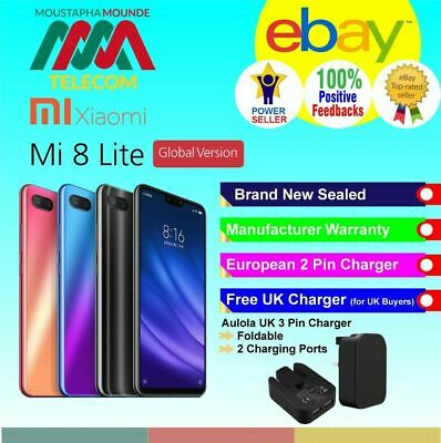 Xiaomi Mi 8 Lite Brand New Sealed Factory Unlocked Global Version Fast Delivery