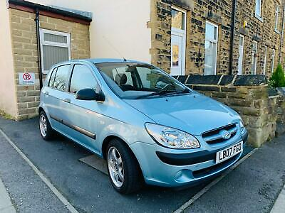 HYUNDAI GETZ 1.1GSI Long M.O.T V.G.C 4 New Tyres Located in Leeds