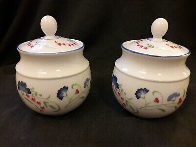 Royal Doulton Expressions~Windermere~1990. Lidded Sugar I have 2 available