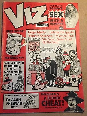 Viz comic - Issue 31 - Good  condition - August September 1988 - Over 18s only.