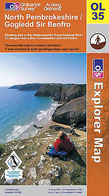 North Pembrokeshire by Ordnance Survey (Sheet map, folded, 2005) 1:25 000