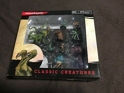 D&D Icons of the Realms Classic Creatures Box Set Nine Iconic Monsters