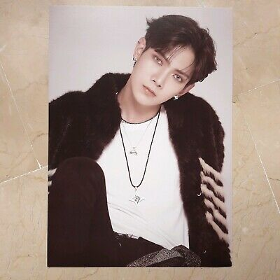 "ATEEZ YEOSANG ""Treasure Ep.2: Zero to One"" Official showcase goods Mini Poster"