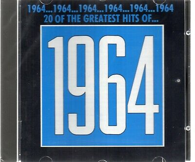 The Greatest Hits Of 1964 - Various Artists (CD 1990) Original CD New