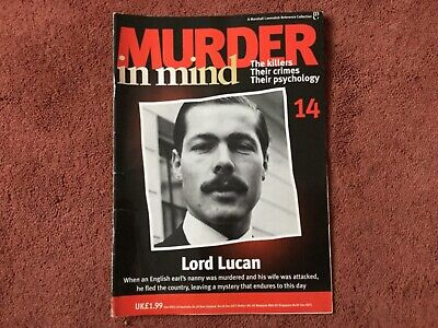 Murder In Mind Magazine - Issue 14 - Lord Lucan - Good Condition !!