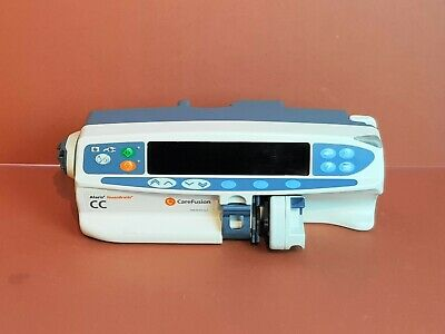 Syringe Driver Alaris CC Guardrails Carefusion Syringe Pump Alaris CC Guardrails