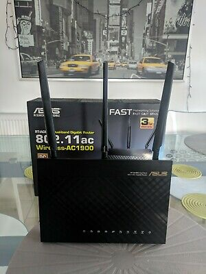 ASUS RT-AC68U AC1900 Dual Band Gigabit WiFi Router