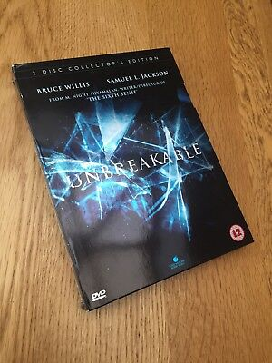 Unbreakable DVD, 2 Disc Collector's Edition with Picture Cards / Booklet
