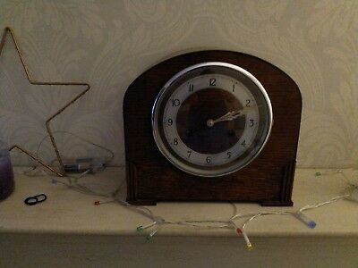 Bravington's Vintage Mantel Piece Clock for repair ticks for a while then stops