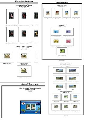 Print your own Jersey Stamp Album, fully illustrated and annotated