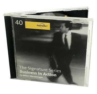PhotoDisc - BUSINESS IN ACTION - Stock Photo CD (Work Lifestyle Photography)