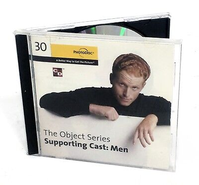 PhotoDisc - SUPPORTING CAST: MEN - Object Series 30 (Stock Photo/Photography)